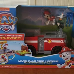 Marshall's ride n rescue new in box